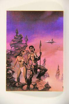L010257 Boris Vallejo 1991 / Yesterday And Tomorrow - 1985 - Card #60 / ARTWORK