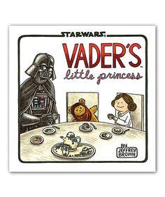 Love this Star Wars Vader's Little Princess Hardcover by Star Wars on #zulily! #zulilyfinds