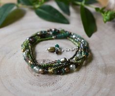 """Christine Walsh on Instagram: """"Gemstone seed bead beaded wraps are back in stock. Made to wrap 5 times around the wrist or once or twice around the neck. Perfect stocking…"""" Seed Beads, Jewelry Bracelets, Seeds, Wraps, Stockings, Times, Gemstones, Instagram, Socks"""