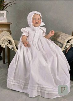 Blessing Dress for Clara?   Also have monogrammed bib and other items