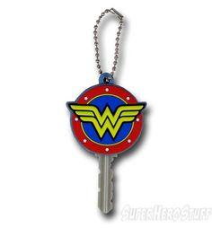 Wonder Woman Symbol Keyholder Keychain