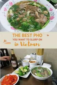 One of the most famous dishes of Vietnam is Pho, a noodle soup, popular with locals, especially at breakfast. Going to Vietnam without eating Pho would make your visit incomplete. Indeed, it is not only a delicious bowl of soup, but pho also provides an interesting lens into the Vietnamese culture.