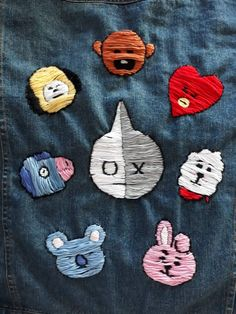 Hey hey, im back. In this post I will be showing you how I made this BT21 denim jacket! ┌───────