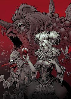 Darkest Dungeon - Countess, wonseok choi on ArtStation at https://www.artstation.com/artwork/GKReQ