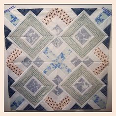 from blank pages...: Illusion, a Paper Piecing Pattern!