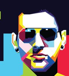 WPAP ( Wedha's Pop Art Potrait ) by Soe Hok Jie, via Behance