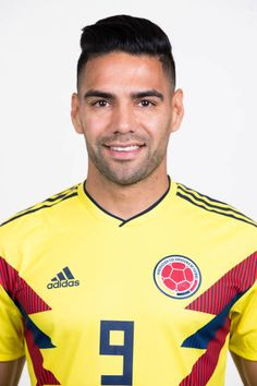 Radamel Falcao of Colombia poses for a portrait during the official FIFA World Cup 2018 portrait session at Kazan Ski Resort on June 13 2018 in Kazan. Fifa World Cup 2018, World Football, Poses, Soccer Players, Superstar, Russia, Polo Ralph Lauren, Mens Tops, Portraits