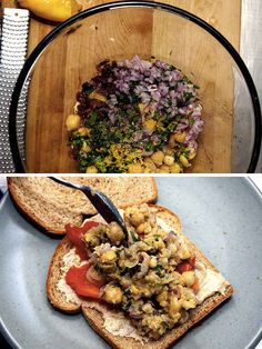 Smashed Chickpea Sandwich   23 Delicious Lunches To Brighten Up Your Day At Work