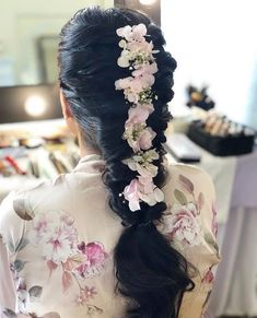 Gorgeous New Floral Braids That Are Perfect For The Mehendi Indian Wedding Planning, Wedding Planning Websites, Mehndi Hairstyles, Crown Images, Top Photographers, Party Wear Dresses, Wedding Vendors, Weddings, Floral Crown