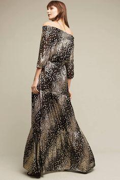 Shoshanna Andresa Off-The-Shoulder Maxi Dress
