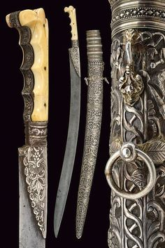 17th -18th century Ottoman sword karabela yataghan. Konrad Sherlock collection