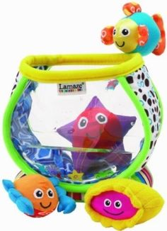 Lamaze My First Fish Bowl Baby Toddler Activity Soft Toy New Phil And Teds Lobster, One Fish, Developmental Toys, Preschool Toys, Boy Doll, 1st Christmas, Tk Maxx, Pre School, Toddler Activities