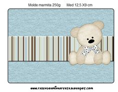 Ideas y material gratis para fiestas y celebraciones Oh My Fiesta!: Imprimibles de ositos 10. Teddy Bear Party, Teddy Bear Baby Shower, Baby Boy Shower, Baby Shower Parties, Baby Shower Themes, Candy Bar Labels, Oh My Fiesta, Baby Shower Cupcake Toppers, Baby Shawer