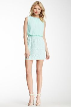 Embellished Lace Sleeveless Dress by Romeo & Juliet Couture on  $45.97 $195.00  76% off