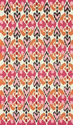Rugs USA Radiante Nuan Bright Pink Rug Modern, home decor, interior design, style, create, decor, pattern, interior design, pink, area rugs, print.