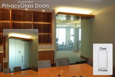 Switchable Privacy Glass Glass Door