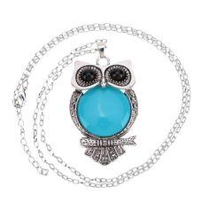 2015 сова себе ожерелье мода ожерелье для женщин богемия стиль длиной макси ожерелья и кулоны ожерельякупить в магазине Five Star Outlet наAliExpress