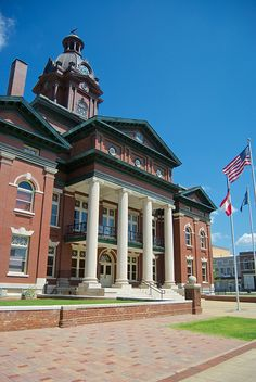 """County Courthouse - *Coweta County, Newnan, Georgia*""  
