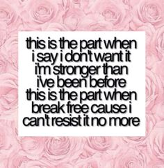 Break Free - Ariana Grande