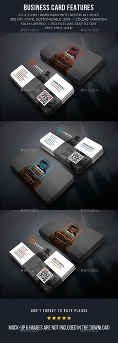 Personal Photography Business Cards