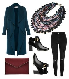 """""""Rocking a Statement Necklace"""" by foam-bubbles on Polyvore featuring L.K.Bennett, Rebecca Minkoff, Ted Baker and River Island"""