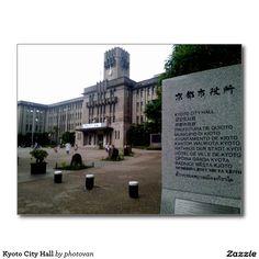 Kyoto City Hall http://www.zazzle.com/kyoto_city_hall-239147829524844685