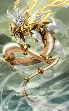 Shining Dragon by pamansazz.deviantart.com on @deviantART