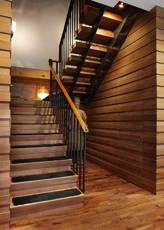 дневник дизайнера: Дерево в интерьере элитных апартаментов в Чикаго Urban Chic
