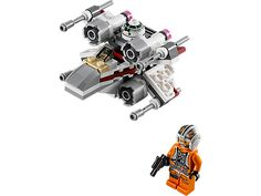 Defend the Rebels with the LEGO� Star Wars� X-Wing Fighter� microfighter!