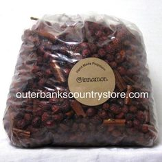 Scented Rose Hips / Potpourri CINNAMON Super scented! Made in the USA! Size: 5 Pound Bag  (Great for crafters!) (25 Cups) **** FREE SHIPPING! ****