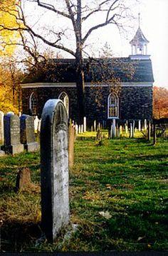 The Old Dutch Church and Cemetery Sleepy Hollow New York.