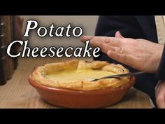 Historical Cheesecake with No Cheese - 18th Century Cooking - YouTube