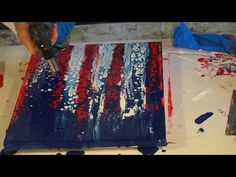 2ef73b8768ee 15 Inspiring American flag painting images