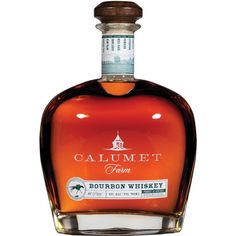 In 1924, William Monroe Wright, a successful entrepreneur & owner of Calumet Baking Powder Co., established a farm on the rolling hills of Lexington, Kentucky. The horses that were raised on Wright's farm would go on to win eight Kentucky derbies, along with two triple crowns. Calumet Farm Bourbon Whiskey pays homage to Wright's beautiful farm & his tradition of breeding winners. The bourbon is made from a traditional mashbill of corn, rye & malted barley that are distilled before being aged
