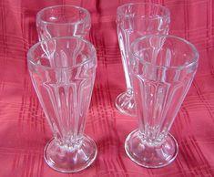 Vintage Tupperware  Goblet Parfait Stemware Cup Bottoms in Beautiful Fun Colors