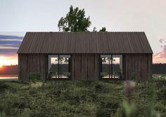 LANGHUS collection of cabins, design: Wullum for Rindalshytter AS