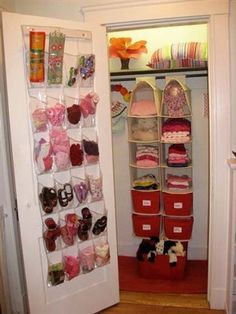 Inspiring Kids Closet Organization For more kids room ideas visit, http://bostonparentspaper.com/blog/home-design-ideas-that-grow-with-kids/