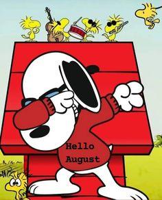 Snoopy Love, Snoopy And Woodstock, Snoopy Cartoon, Hello August, Snoopy Pictures, Joe Cool, Peanuts Snoopy, Peanuts Comics, Eeyore