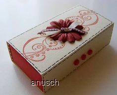 ♥ Kreativ - Sucht ♥: Workshop für eine Falt-Schiebeschachtel - Taschentuchbox