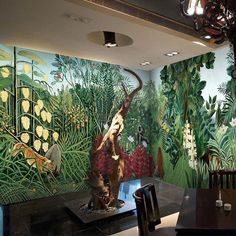 3D Wallpaper Wood Monkey 110 Wallpaper Mural Wall Mural Wall Murals Removable Wallpaper