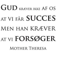 Wallsticker Mother Theresa citat