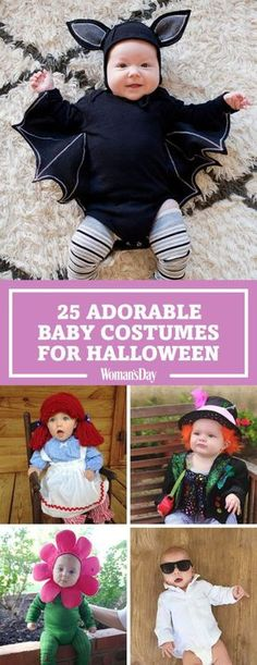 Dress your baby in these adorable Halloween costumes for a Trick-or-Treat cuteness overload. Everyone will be aww-ing at the site of your little one!