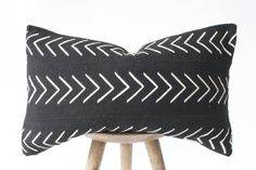 African Mudcloth Pillow No. 09 - Rug & Weave