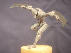 Necron fighter