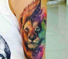 tatuagens de leão - 09