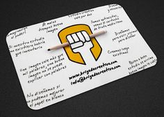 new business card idea?!