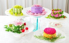 These Beautiful Cakes Are Actually Healthy Salads in Disguise
