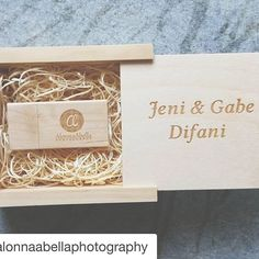 #Repost @alonnaabellaphotography with @repostapp. #PresentationMatters ・・・ I swear by photoflashdrive.com for my engraved wood boxes and flash drives for my clients, they are fast, affordable and good quality! #packaging #engraved #alonnaabellaphotography