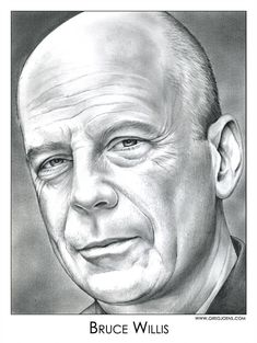 Bruce Willis by gregchapin.devian… on – Jean Jeffries Bruce Willis by gregchapin.devian… on Bruce Willis by gregchapin. Cool Pencil Drawings, Graphite Drawings, Amazing Drawings, Portrait Au Crayon, Pencil Portrait, Portrait Art, Bruce Willis, Celebrity Drawings, Celebrity Portraits