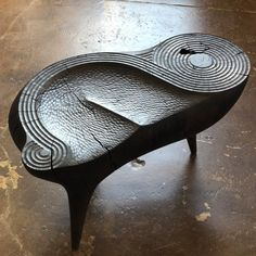 How Caleb Woodard Sculpts His Incredibly Detailed Furnishings - Galerie Metal Furniture, Modern Furniture, Furniture Design, Wooden Projects, Wood Sculpture, Wood Design, Chair Design, Wood Art, Woodworking
